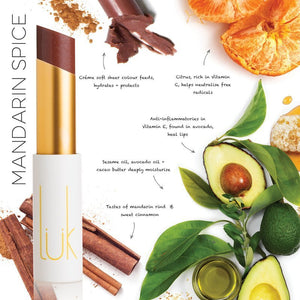 Shop Lip Nourish Mandarin Spice Lipstick by luk beautifood - Let's make it a trend #explorebeautiful lipstick