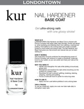 Load image into Gallery viewer, kur Nail Hardener & Base Coat