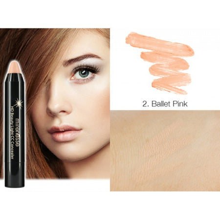 Shop High Coverage Concealer in Ballet Pink by Mirenesse - Let's make it a trend #explorebeautiful face primers and color correctors