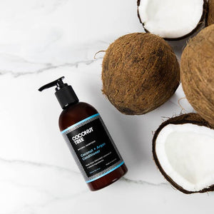 Shop Coconut & Argan Conditioner Haircare by Coconut Tree - Let's make it a trend #explorebeautiful haircare conditioners