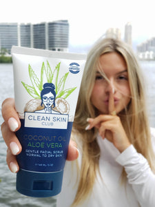 Shop Coconut Oil Aloe Gentle Scrub by Clean Skin Club - Let's make it a trend #explorebeautiful skincare