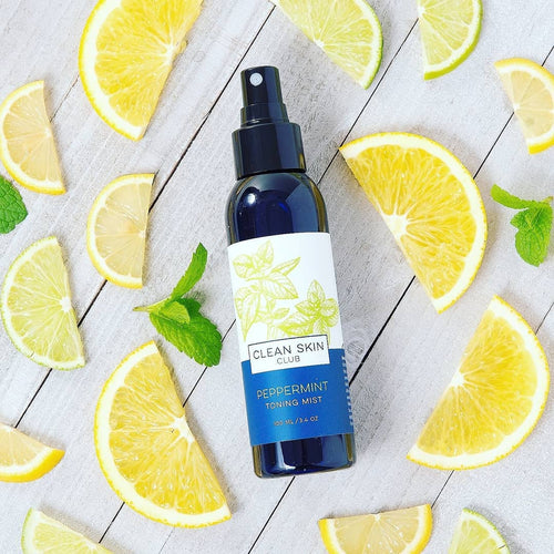 Shop Organic Peppermint Toning Mist by Clean Skin Club - Let's make it a trend #explorebeautiful skincare