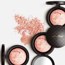 Load image into Gallery viewer, Shop Paros Pink Marble Mineral Baked Powder Blush by Mirenesse - Let's make it a trend #explorebeautiful face blushes