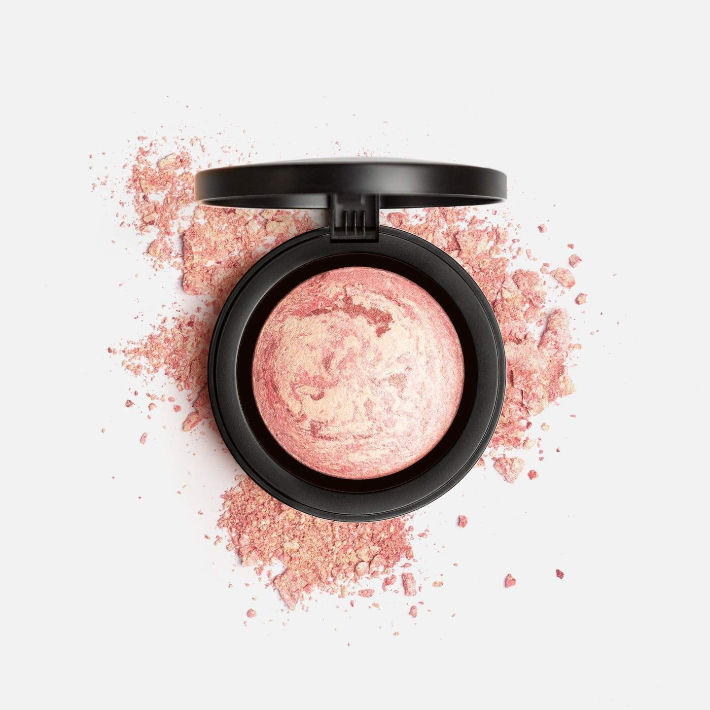 Shop Paros Pink Marble Mineral Baked Powder Blush by Mirenesse - Let's make it a trend #explorebeautiful face blushes