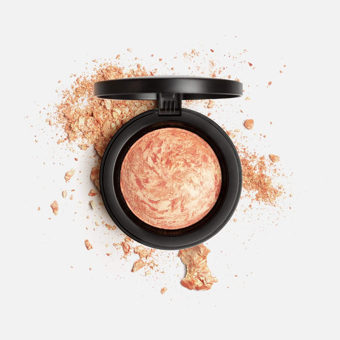 Shop Carrara Coral Marble Mineral Baked Powder Blush by Mirenesse - Let's make it a trend #explorebeautiful face blushes