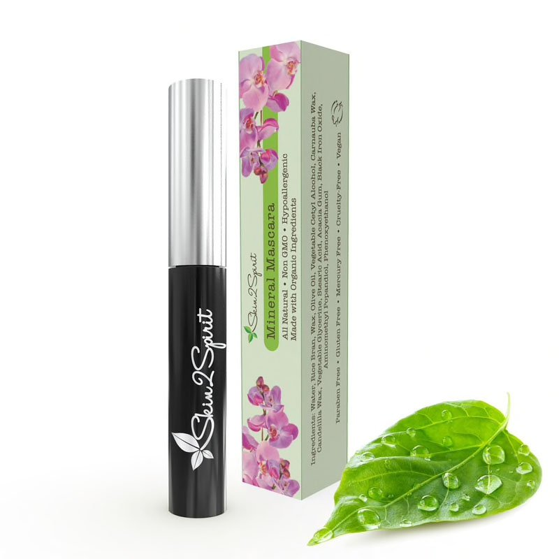 Shop Mineral Mascara by Skin2Spirit - Let's make it a trend #explorebeautiful face mascaras