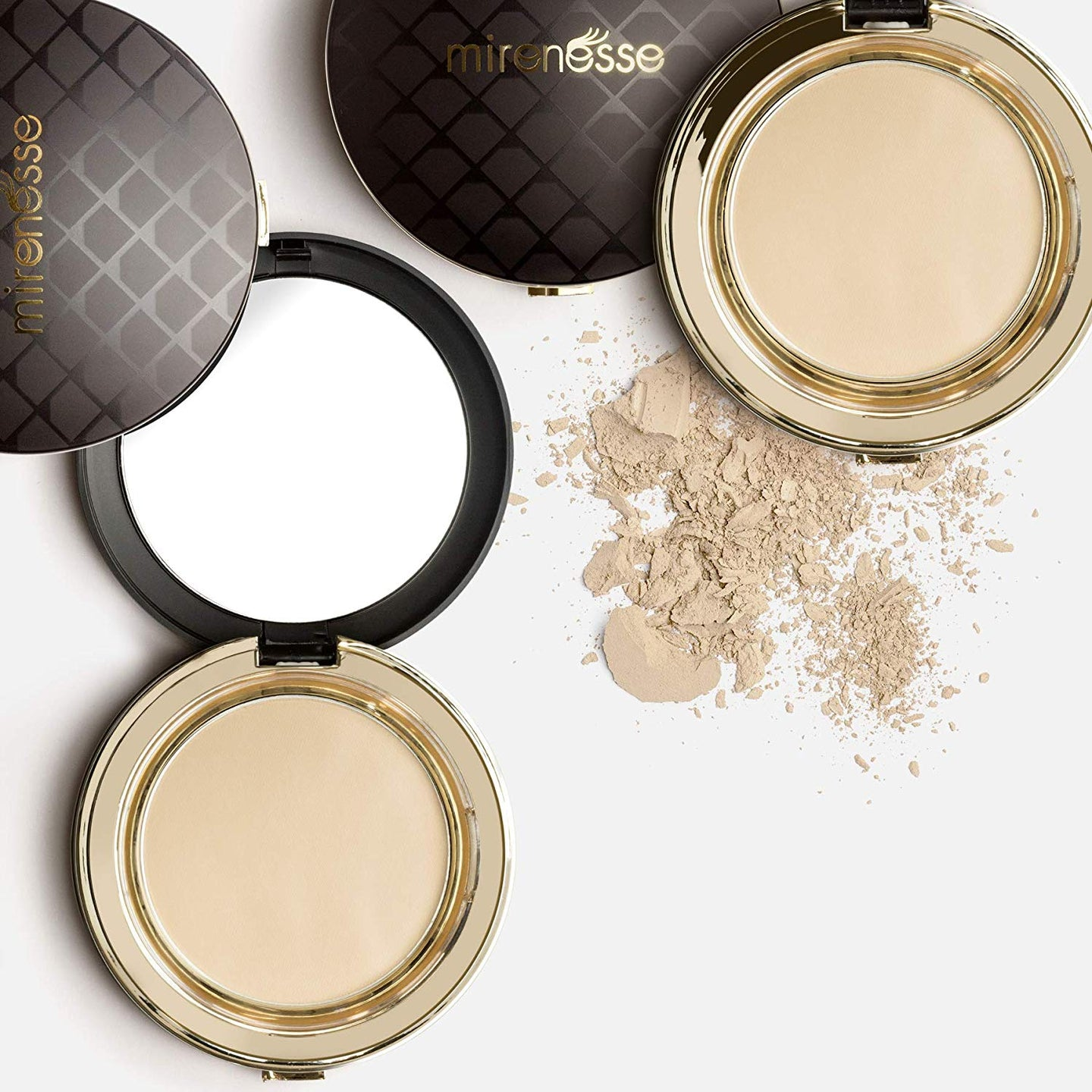 Shop Vienna 4 in 1 Skin Clone Foundation Mineral Face Powder by Mirenesse - Let's make it a trend #explorebeautiful face foundations
