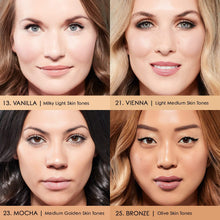 Load image into Gallery viewer, Shop Mocha 4 in 1 Skin Clone Foundation Mineral Face Powder by Mirenesse - Let's make it a trend #explorebeautiful face foundations