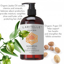 Load image into Gallery viewer, Shop Sensual Bliss Organic Shampoo by Laritelle - Let's make it a trend #explorebeautiful haircare shampoos