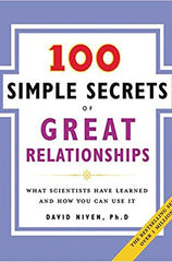 100 simple secrets of great relationships - book recommendation