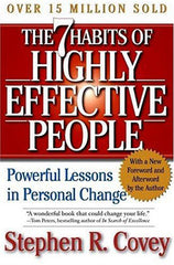 The 7 habits of highly effective people - book recommendation