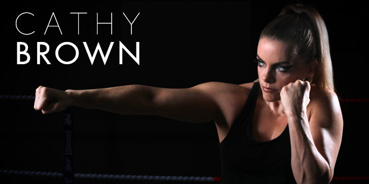 Cathy Brown British Female Boxer
