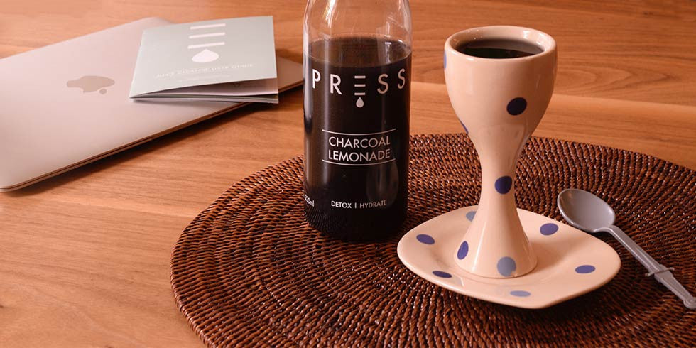 PRESS London - Charcoal Lemonade