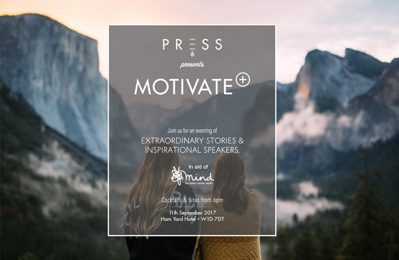PRESS x Mind Motivate Event
