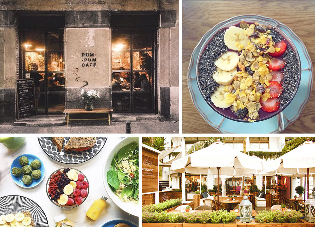 Best healthy breakfasts in Madrid