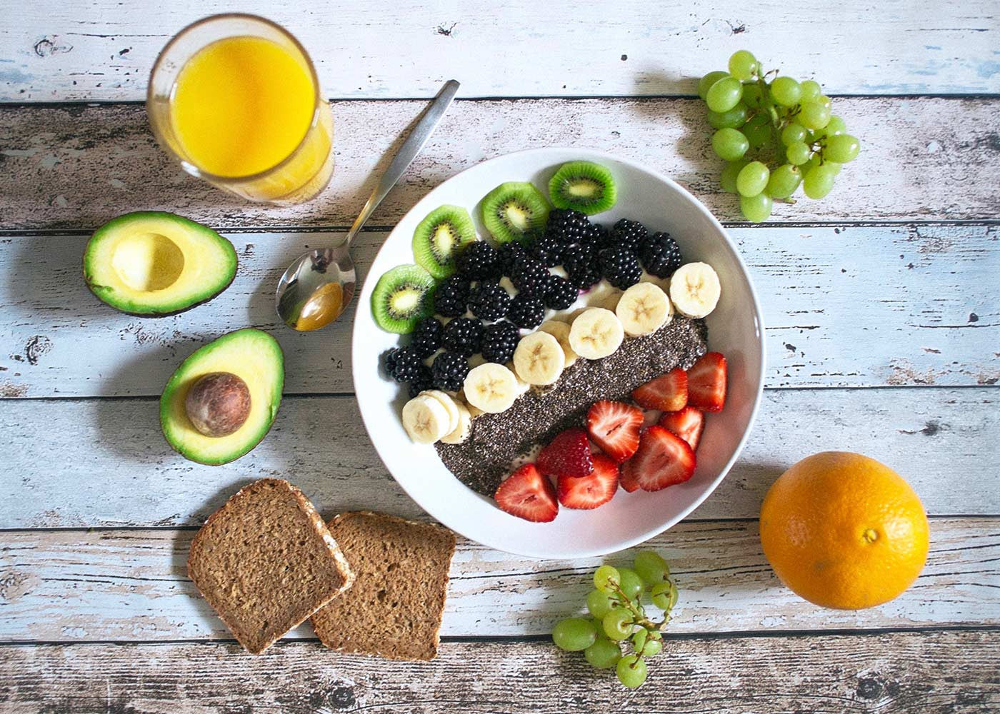 Chia Bowl Avocado Good For Weight Loss Breakfast