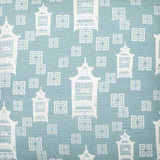 Birdcage Toile - Light Blue Fabric Swatch