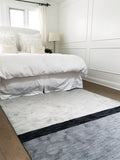 Coco's Color Block Rug- Cream/Black/Charcoal