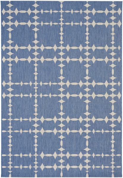 Finesse Tower Court Rug - Capri Blue