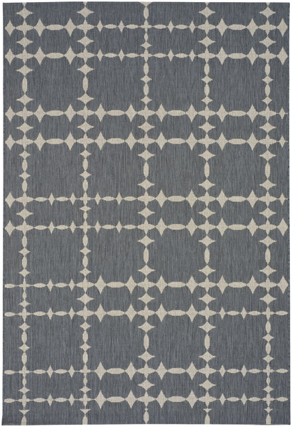 Finesse Tower Court Rug - Charcoal 40% OFF