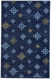 Glace Rug - Crystal Blue/Maize