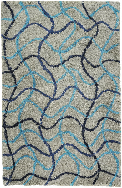 Ribbons Rug- Nautical