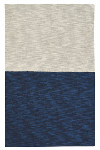 Coco's Color Block Rug -Cream/Navy