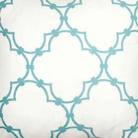 Quatrefoil - Light Blue Fabric Swatch