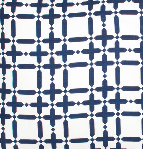 Plaid Solid - Navy Fabric Swatch