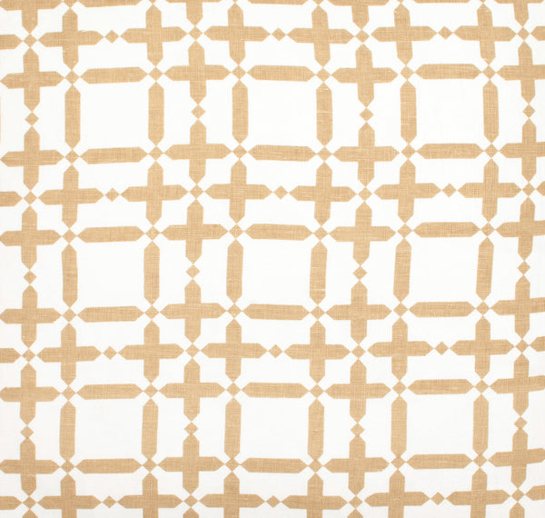 Plaid Solid - Tan Fabric Swatch