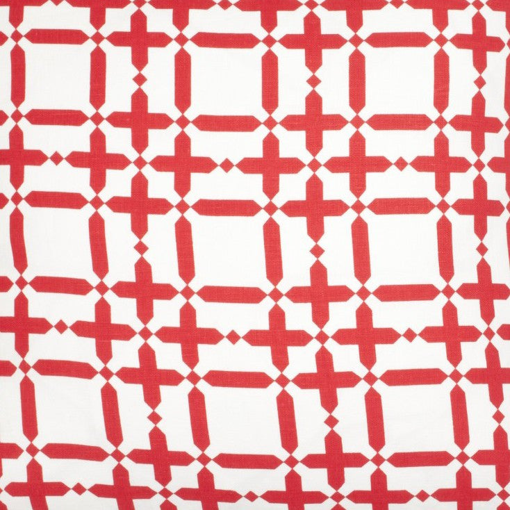 Plaid Solid - Light Red Fabric Swatch