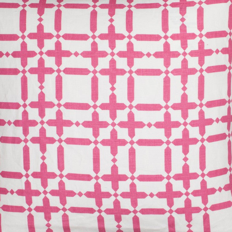 Plaid Solid - Pink Fabric Swatch