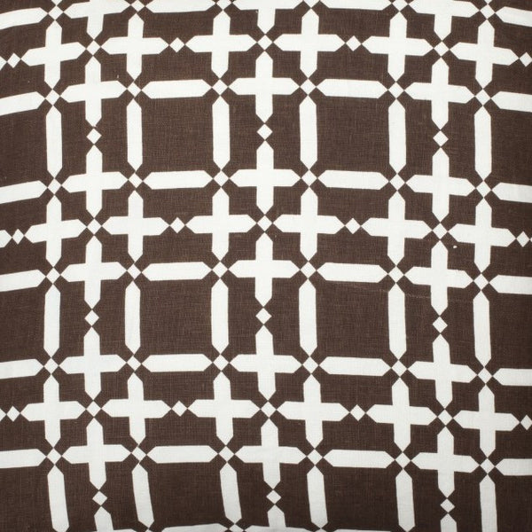 Plaid Solid - Brown Reverse Fabric Swatch