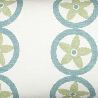 Vent - Light Blue & Sage Fabric Swatch