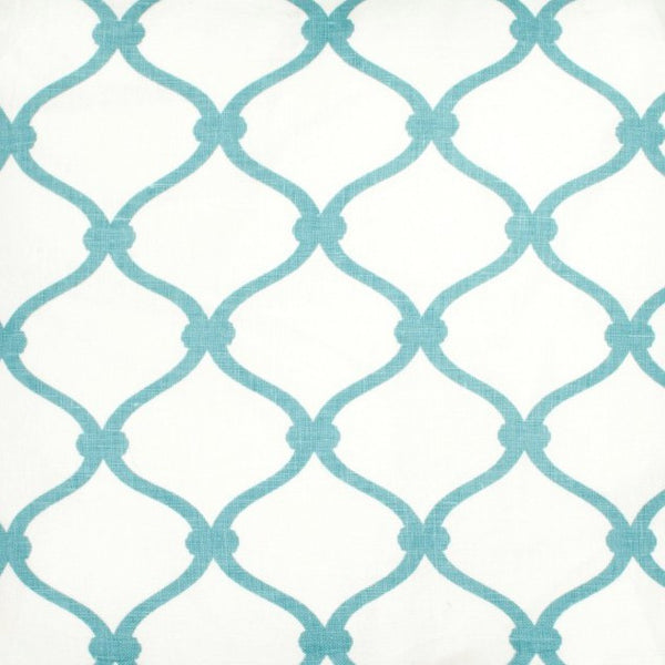 Fence - Light Blue Fabric Swatch