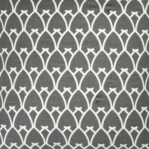 Arch - Charcoal Grey Reverse Fabric Swatch