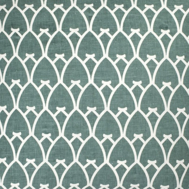 Arch - Sea Green Reverse Fabric Swatch