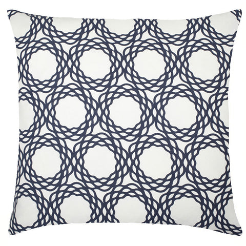 Oxford Cotton Pillow - Navy
