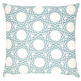 Oxford Cotton Pillow - Light Blue