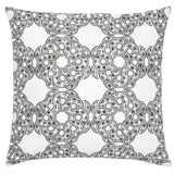 Maroc Etoile Cotton Pillow - Black