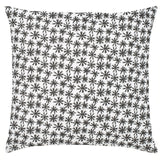 Petite Etoile Cotton Pillow - Black