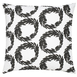 Rive Cotton Pillow - Black