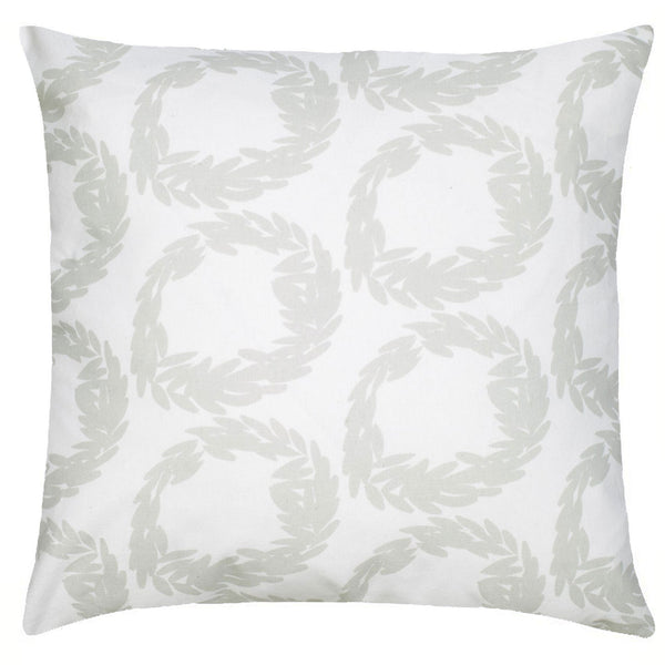 Rive Cotton Pillow - Mist Gray