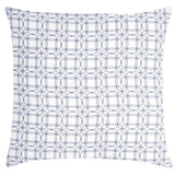 COCOCOZY Plaid Cotton Pillow - Navy
