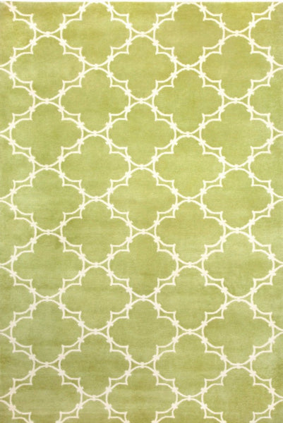 Quatrefoil Rug - Apple