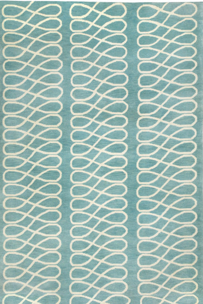 Loop Rug - Light Blue