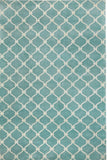 Fence Rug - Light Blue