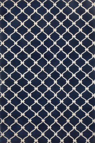 Fence Rug - Navy 20% OFF