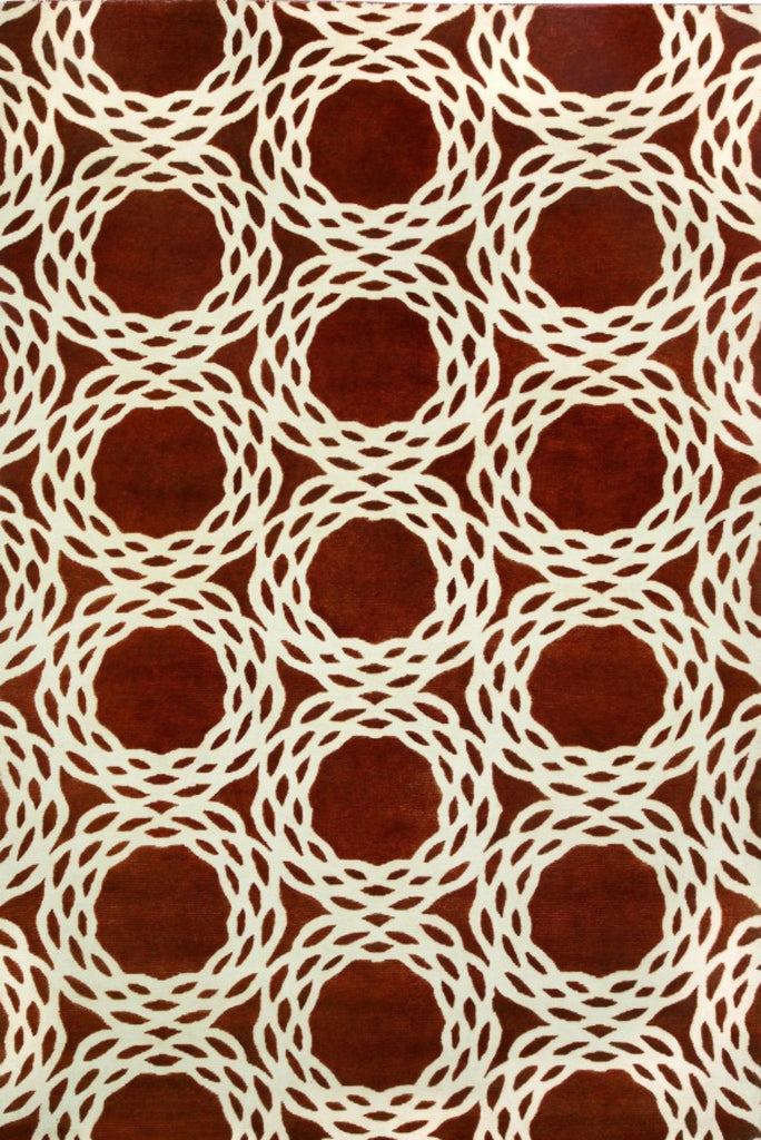 Oxford Rug - Rust 50% OFF