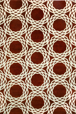 Oxford Rug - Rust